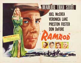 Ramrod - 22 x 28 Movie Poster - Half Sheet Style A
