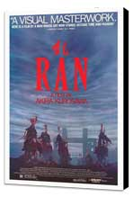Ran - 27 x 40 Movie Poster - Style A - Museum Wrapped Canvas