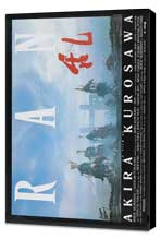 Ran - 27 x 40 Movie Poster - French Style A - Museum Wrapped Canvas
