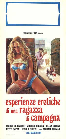 Ranch of the Nymphomaniac Girls - 13 x 28 Movie Poster - Italian Style A
