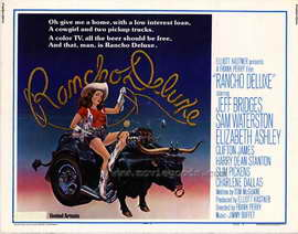 Rancho Deluxe - 22 x 28 Movie Poster - Half Sheet Style A