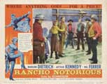 Rancho Notorious - 11 x 14 Movie Poster - Style H