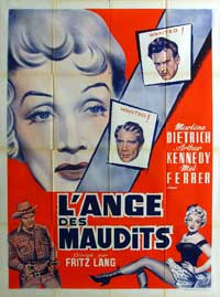 Rancho Notorious - 27 x 40 Movie Poster - French Style A