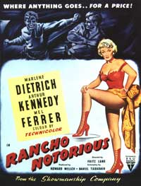 Rancho Notorious - 27 x 40 Movie Poster - Style B