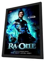 Random Access One - 11 x 17 Movie Poster - Indian Style A - in Deluxe Wood Frame