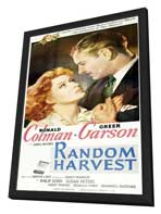 Random Harvest - 11 x 17 Movie Poster - Style C - in Deluxe Wood Frame