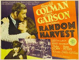 Random Harvest - 22 x 28 Movie Poster - Half Sheet Style A