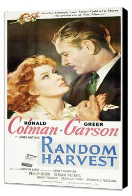 Random Harvest - 11 x 17 Movie Poster - Style C - Museum Wrapped Canvas
