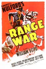 Range War - 43 x 62 Movie Poster - Bus Shelter Style A