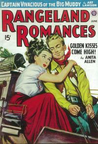 Rangeland Romances (Pulp) - 11 x 17 Pulp Poster - Style A
