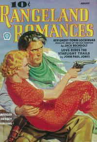 Rangeland Romances (Pulp) - 11 x 17 Pulp Poster - Style B