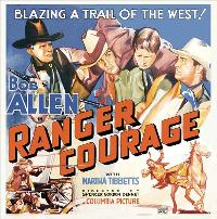 Ranger Courage - 30 x 30 Movie Poster - Style A