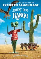 Rango - 11 x 17 Movie Poster - French Style D