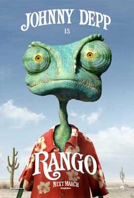 Rango - 27 x 40 Movie Poster - Style B