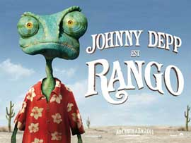 Rango - 27 x 40 Movie Poster - French Style A