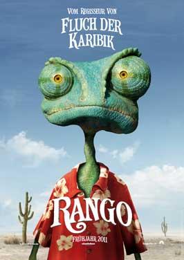 Rango - 27 x 40 Movie Poster - German Style A