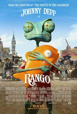Rango - 11 x 17 Movie Poster - Style C