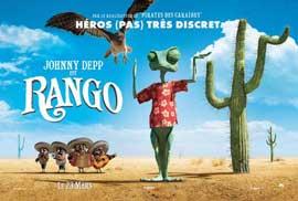 Rango - 11 x 17 Movie Poster - French Style E