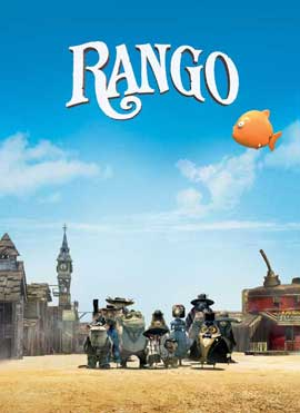Rango - 27 x 40 Movie Poster - Style D