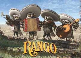 Rango - 11 x 17 Movie Poster - Spanish Style E