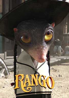 Rango - 11 x 17 Movie Poster - Spanish Style F