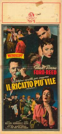 Ransom - 11 x 17 Movie Poster - Italian Style A