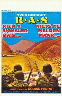 R.A.S. - 11 x 17 Movie Poster - Belgian Style A