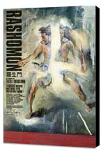 Rashomon - 11 x 17 Movie Poster - Style B - Museum Wrapped Canvas