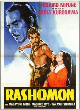 Rashomon - 11 x 17 Movie Poster - Italian Style A
