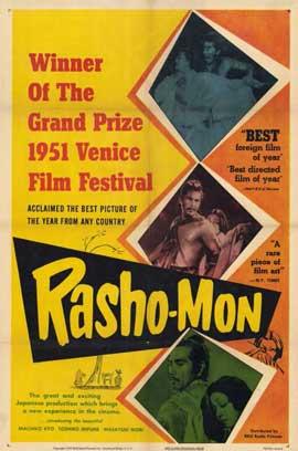 Rashomon - 27 x 40 Movie Poster - Style A