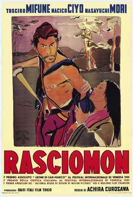 Rashomon - 27 x 40 Movie Poster - Italian Style A