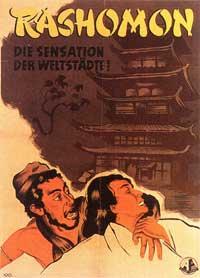 Rashomon - 11 x 17 Movie Poster - German Style A
