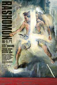 Rashomon - 43 x 62 Movie Poster - Bus Shelter Style B