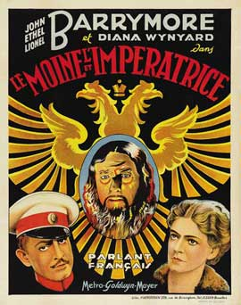 Rasputin and the Empress - 11 x 17 Movie Poster - French Style A