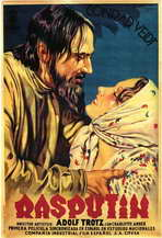 Rasputin - 11 x 17 Movie Poster - Spanish Style A