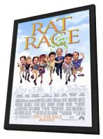 Rat Race - 11 x 17 Movie Poster - Style A - in Deluxe Wood Frame