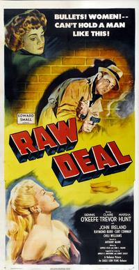 Raw Deal - 14 x 36 Movie Poster - Insert Style A