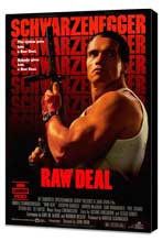Raw Deal - 27 x 40 Movie Poster - Style B - Museum Wrapped Canvas