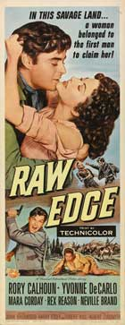 Raw Edge - 14 x 36 Movie Poster - Insert Style A