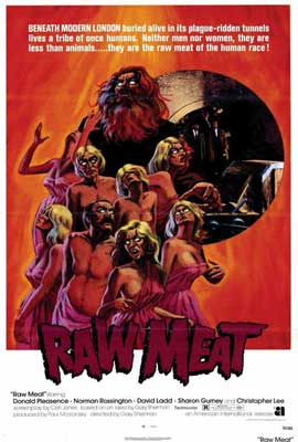 Raw Meat - 27 x 40 Movie Poster - Style A