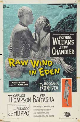 Raw Wind in Eden - 11 x 17 Movie Poster - Style B