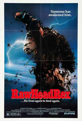 RawHeadRex - 11 x 17 Movie Poster - Style A