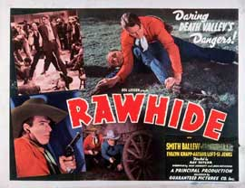 Rawhide - 11 x 14 Movie Poster - Style A