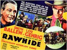 Rawhide - 27 x 40 Movie Poster - Style A