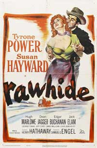 Rawhide - 11 x 17 Movie Poster - Style B