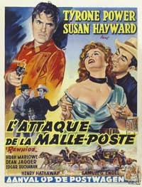 Rawhide - 27 x 40 Movie Poster - Belgian Style A