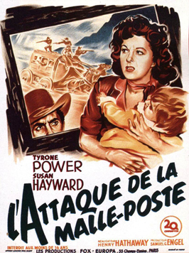 Rawhide - 11 x 17 Movie Poster - French Style A