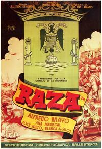 Raza - 11 x 17 Movie Poster - Spanish Style A