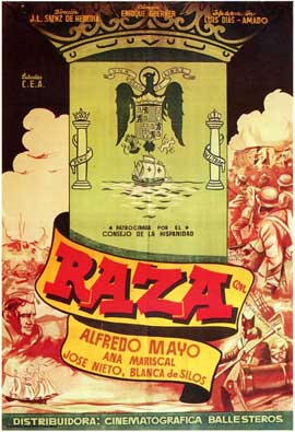 Raza - 27 x 40 Movie Poster - Spanish Style A