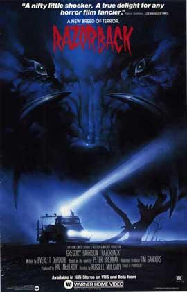 Razorback - 11 x 17 Movie Poster - Style A